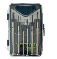 NERIOX Uhrmacher-Schraubenziehersatz 6-teilig, 1.4...3.0, PH 0/1 - toolster.ch