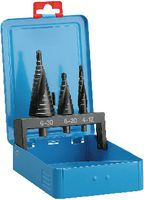 Sortiment Mehrstufenbohrer aus BRW 257500,in Metallkassette L1-S, L2-S, L3-S  (je 1 Stk.) - toolster.ch