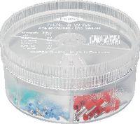 KNIPEX Aderendhülsen-Sortiment 0.25...1.0 mm2 / 150 Stk. assortiert - toolster.ch