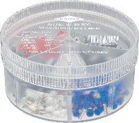 KNIPEX Aderendhülsen-Sortiment 0.50...2.5 mm2 / 400 Stk. assortiert - toolster.ch