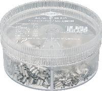 KNIPEX Aderendhülsen-Sortiment 0.50...2.5 mm2 / 1900 Stk. assortiert - toolster.ch