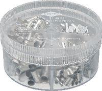 KNIPEX Aderendhülsen-Sortiment 4.0...16 mm2 / 350 Stk. assortiert - toolster.ch