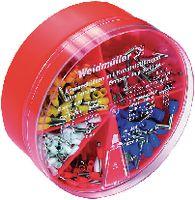 WEIDMÜLLER Aderendhülsen-Sortiment 0.5...2.5 mm2 / 400 Stk. assortiert - toolster.ch