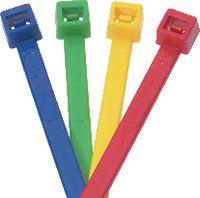 Kabelbinder Packung zu 100 Stück 100 x 2.5 mm / blau / Ø 2...24 mm - toolster.ch