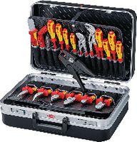 KNIPEX Elektriker-Werkzeugkoffer 00 21 20, 20-teilig - toolster.ch