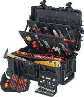 KNIPEX Elektriker-Werkzeugkoffer 00 21 37, 63-teilig - toolster.ch