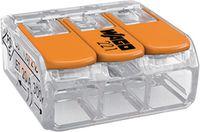 WAGO Verbindungsklemme  COMPACT 3 Leiter, 221-413 - toolster.ch