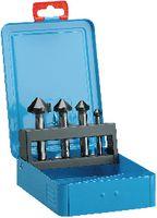 Sortiment Kegelsenker 90° HSS, Futura-TiAlN, in Metallkassette 1/ Durchm. 10.4,16.5,20.5,25.0 - toolster.ch