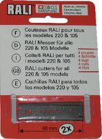 RALI Ersatzmesser 48 CR/ Packung à 2 Stück - toolster.ch