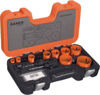 BAHCO Lochsägen-Set 3834-SET-64, 12-teilig, Ø 19...64 mm - toolster.ch