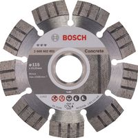 BOSCH Diamanttrennscheibe Best for Concrete 115 - toolster.ch