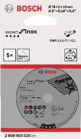 BOSCH Trennscheibe für Inox Ø 76 x 1 mm / Pack à 5 Stk. - toolster.ch