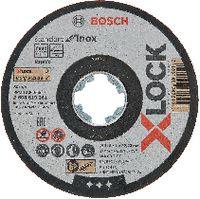 BOSCH Trennscheibe für INOX X-LOCK 125x1.0, Einzelverkauf - toolster.ch