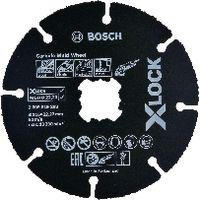 BOSCH Trennscheibe Carbide X-LOCK Einzelverkauf, 125x1.0 - toolster.ch