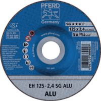 PFERD Trennscheibe für Aluminium 125 x 2.4 (EH 125-2.4 A 30 N SG-ALU) - toolster.ch