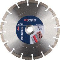 ROTEC Diamanttrennscheibe Beton Uni 115 mm - toolster.ch