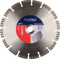 ROTEC Diamanttrennscheibe Turbo 125 mm - toolster.ch