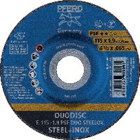 PFERD Trenn- und Schruppscheibe DUODISC® 115x1.9 (E 115-1.9 A46 P PSF-INOX DUO) - toolster.ch