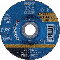PFERD Trenn- und Schruppscheibe DUODISC® 125x2.8 (E 125-2.8 A 46 P PSF-INOX-DUO) - toolster.ch