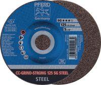 PFERD Schleif-/Schruppscheibe Ø 125 (CC-GRIND-STRONG 125 SG STEEL) - toolster.ch