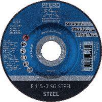 PFERD Schruppscheibe für Stahl 115 x 7.2 (E 115-7 A 24 R SG) - toolster.ch