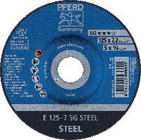 PFERD Schruppscheibe für Stahl 125 x 7.2 (E 125-7 A 24 R SG) - toolster.ch