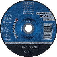 PFERD Schruppscheibe für Stahl 178 x 7.2 (E 178-7 A 24 R SG) - toolster.ch