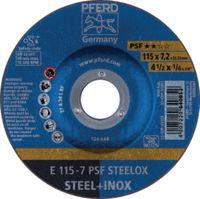 PFERD Schruppscheibe Ø 115 x 7.2 mm (E 115-7 PSF STEELOX) - toolster.ch
