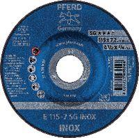 PFERD Schruppscheibe für INOX 115 x 7.2 (E 115-7 A 30 N SG-INOX) - toolster.ch