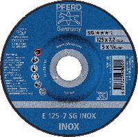 PFERD Schruppscheibe für INOX 125 X 7.2 (E 125-7 A 30 N SG-INOX) - toolster.ch