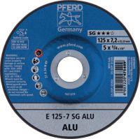 PFERD Schruppscheibe Ø 125 x 7.2 mm (E 125-7 SG ALU) - toolster.ch