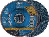 PFERD POLIFAN-Fächerscheiben STEELOX/X-LOCK PFC 115 Z 40 PSF / Einzelverkauf - toolster.ch