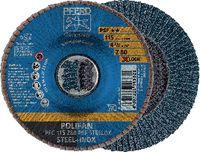 PFERD POLIFAN-Fächerscheiben STEELOX/X-LOCK PFC 115 Z 80 PSF / Einzelverkauf - toolster.ch