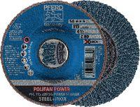 PFERD POLIFAN-Fächerscheiben POWER STEELOX/X-LOCK PFC 115 Z 80 SG / Einzelverkauf - toolster.ch