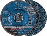 PFERD POLIFAN-Fächerscheiben POWER STEELOX/X-LOCK PFC 125 Z 40 SG / Einzelverkauf - toolster.ch