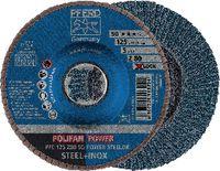 PFERD POLIFAN-Fächerscheiben POWER STEELOX/X-LOCK PFC 125 Z 80 SG / Einzelverkauf - toolster.ch