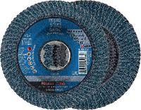 PFERD POLIFAN-Fächerscheiben CURVE STEELOX/X-LOCK PFR 115-L Z 40 SGP / Einzelverkauf - toolster.ch