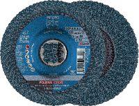 PFERD POLIFAN-Fächerscheiben CURVE STEELOX/X-LOCK PFR 125-M Z 40 SGP / Einzelverkauf - toolster.ch