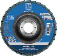 PFERD Vlies-Fächerschleifscheibe POLIVLIES PVZ 125 CO-COOL 120 / A 240 F Ø 125 mm, Korn 120 / 240 - toolster.ch