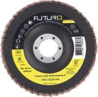 FUTURO Fächerschleifscheibe High Performance C, Ø 125 mm, K 40 - toolster.ch