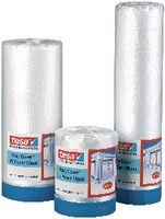 tesa® Abdeckfolie mit Abdeckband Easy Cover 4372 UV 2600 mm x 17 m / transparent - toolster.ch