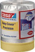 tesa® Abdeckpapier mit Abdeckband Easy Cover 4365 1400 mm x 33 m / transparent - toolster.ch