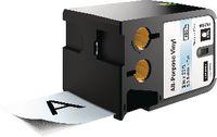 DYMO Schriftbandkassette Vinyl, , XTL 54 mm x 7 m - schwarz / transparent - toolster.ch