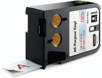 DYMO Schriftbandkassette Vinyl, , XTL 41 mm x 7 m - rot / transparent - toolster.ch