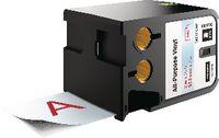 DYMO Schriftbandkassette Vinyl, , XTL 54 mm x 7 m - rot / transparent - toolster.ch