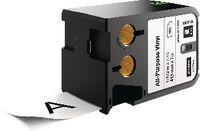 DYMO Schriftbandkassette Vinyl, , XTL 41 mm x 7 m - schwarz / weiss - toolster.ch