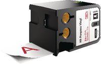 DYMO Schriftbandkassette Vinyl, , XTL 54 mm x 7 m - rot / weiss - toolster.ch