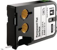 DYMO Schriftbandkassette Polyester, , XTL schwarz / weiss 6 mm x 9.1 m - toolster.ch