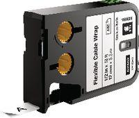 DYMO Schriftbandkassette Nylon, , XTL schwarz / weiss 12 mm x 5.5 m - toolster.ch