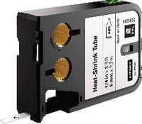 DYMO Heissschrumpfschlauchkassette , XTL schwarz / weiss 6 mm x 2.7 m - toolster.ch
